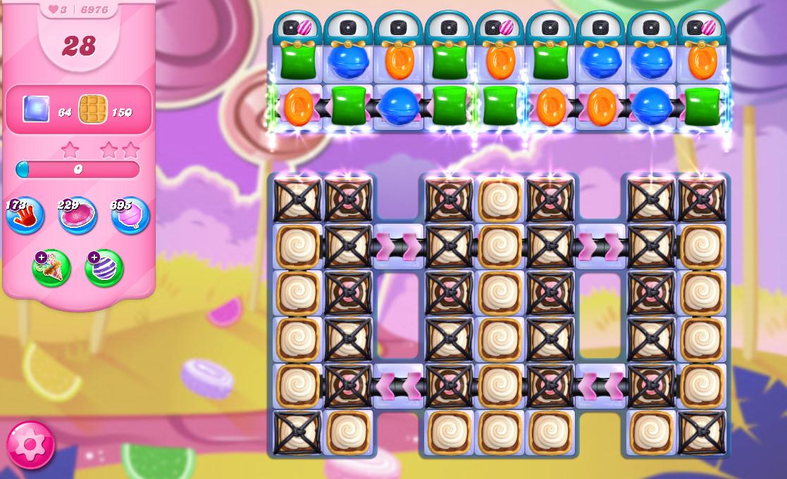Candy Crush Saga level 6976
