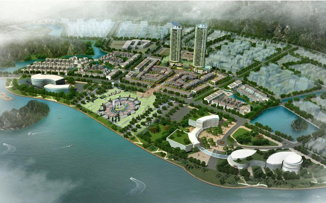 Phối cảnh tổng thể dự án Mon Bay