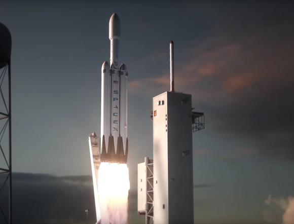 falcon heavy rocket concept-#29