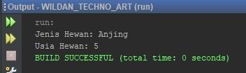 Contoh Penggunaan Method Overriding pada Java