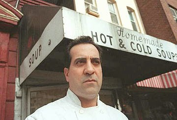 the real soup nazi, Al Yeganeh soup nazi, larry thomas soup nazi