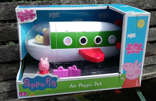 Classic Peppa Pig Toys - Air Peppa Jet