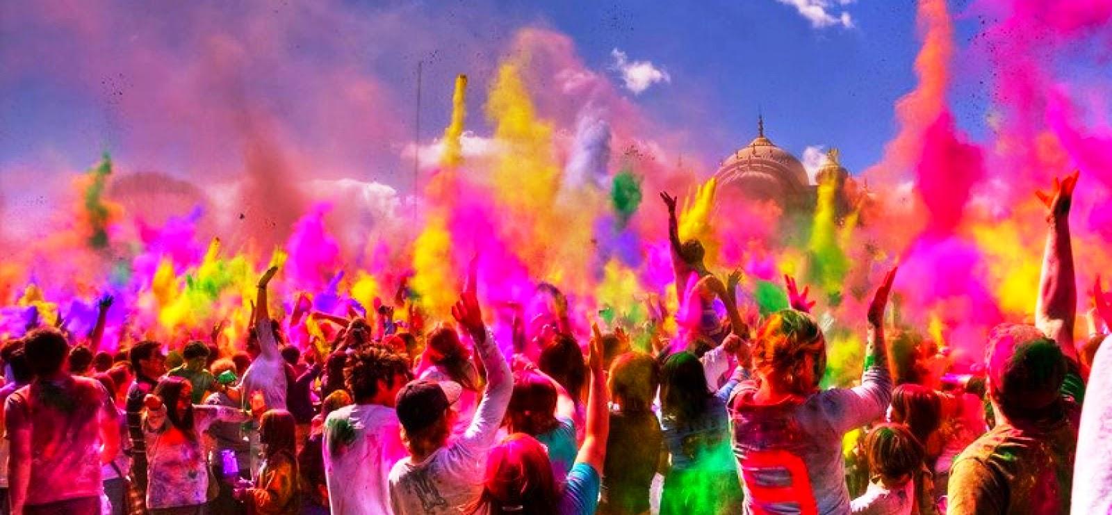 School essay on holi festival