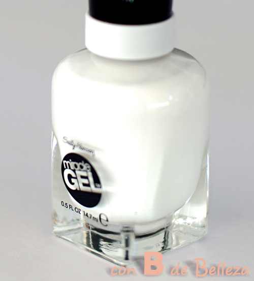 Esmalte gel blanco