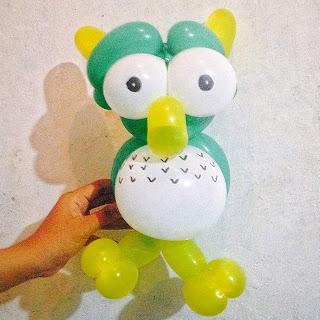 cara membuat balon panjang