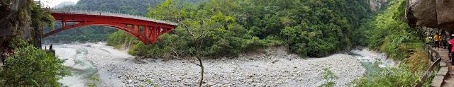 taroko gorge panorama
