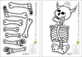 Descargar plantilla esqueleto móvil para imprimir
