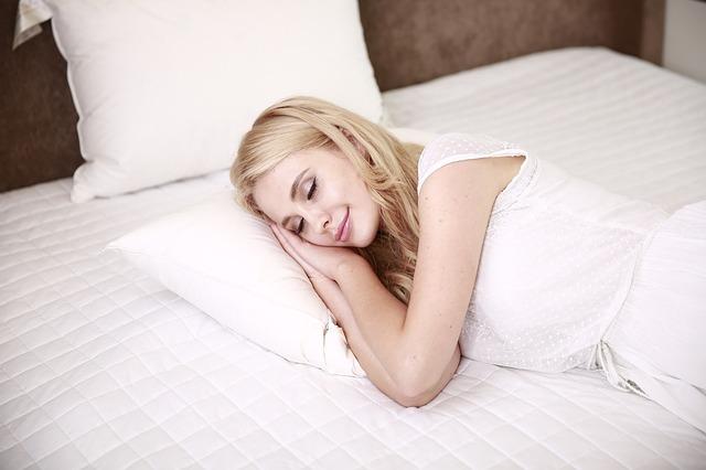 نوم المرأة