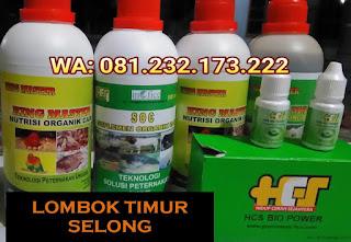 Jual SOC HCS, KINGMASTER, BIOPOWER Siap Kirim Lombok Timur Selong