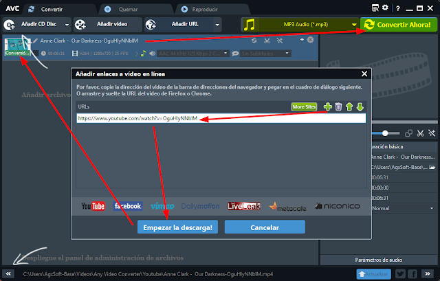Any Video Converter Free 6.1.8 | Completísimo conversor y editor de audio y video