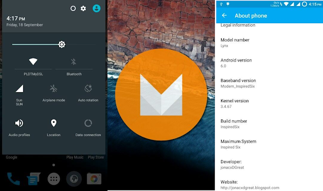 Android 6.0 Marshmallow Custom Rom for Micromax Unite 2