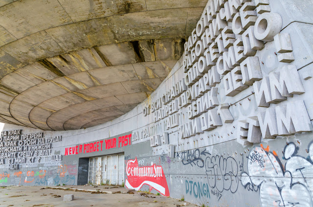 Enjoy Communism Buzludzha Bulgaria