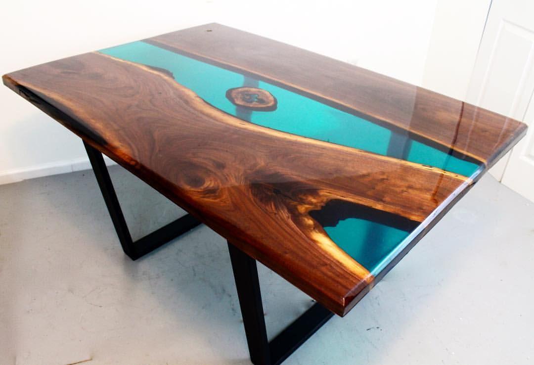 Retro Furniture Jodhpur Handicrafts Epoxy River