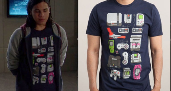 Camisetas Cisco Ramón en The Flash : Nintendero
