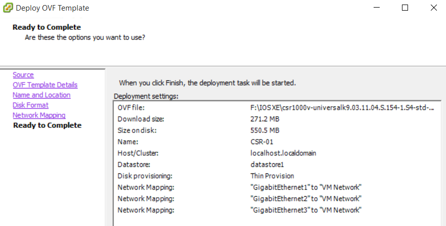 Roshan's Networking Blog: Deploying CSR1000v (Cisco IOS XE