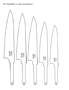 knife patterns