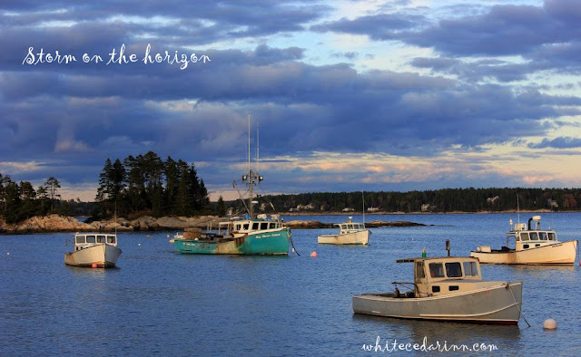 Five Islands lobster boats