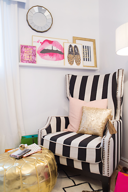 Preppy fashion inspired by decor daily dream decor - Red black and white themed living room ...