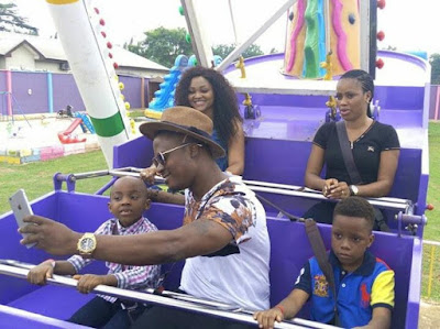 Mercy Aigbe son birthday party 44