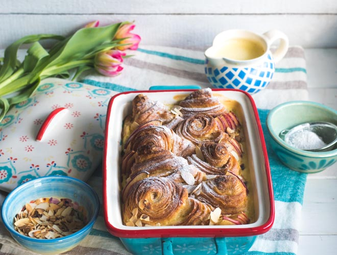 Franzbrötchen French Toast Casserole