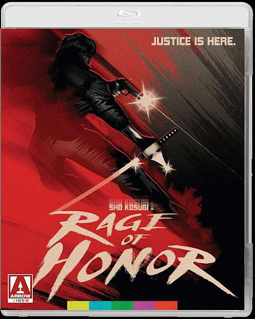 Rage of Honor Blu-ray cover