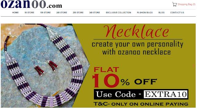 Artificial SIlver Jewellery haul from Ozanoo.com