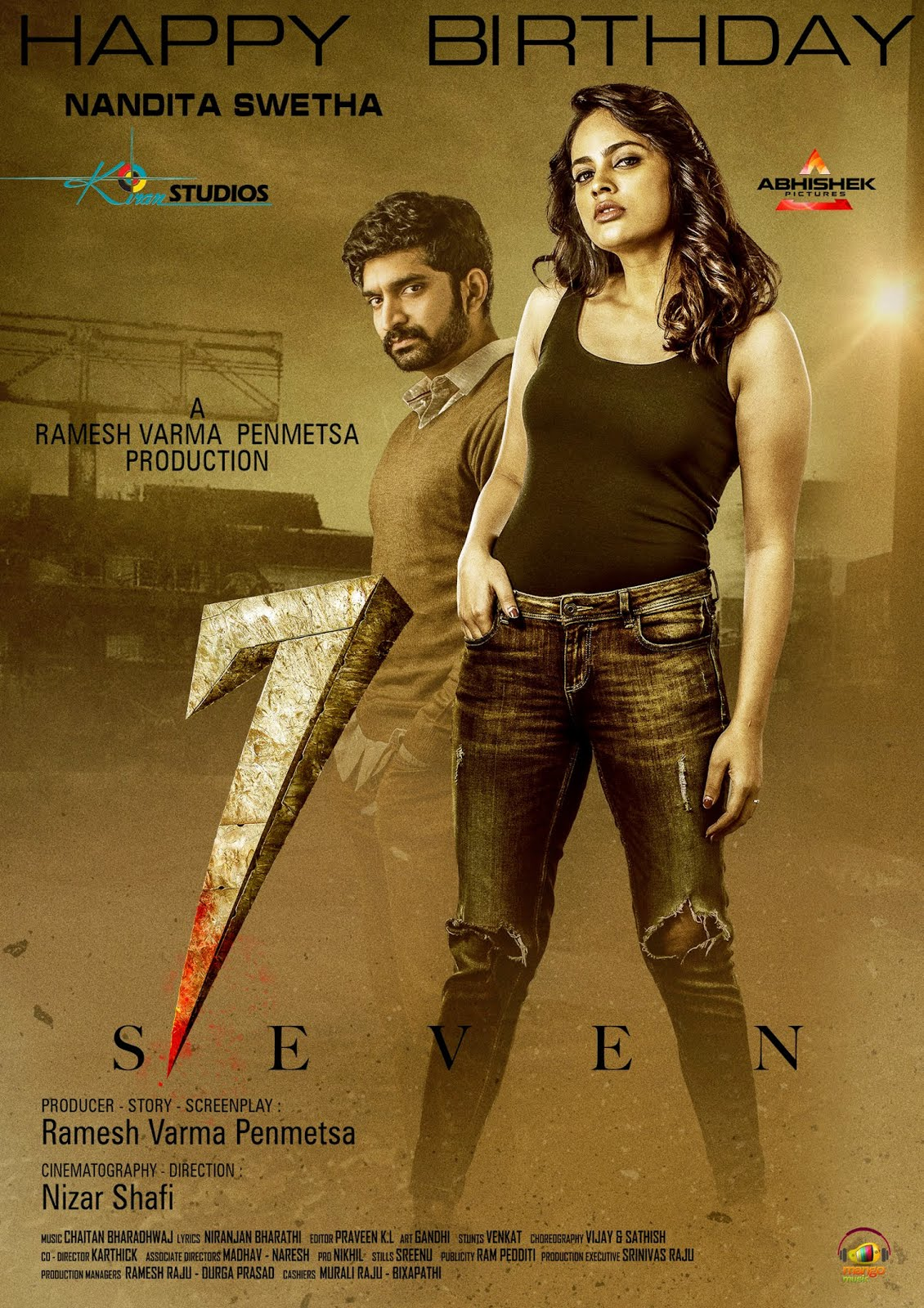 7 (Seven) 2020 Hindi Dubbed 450MB HDRip Download