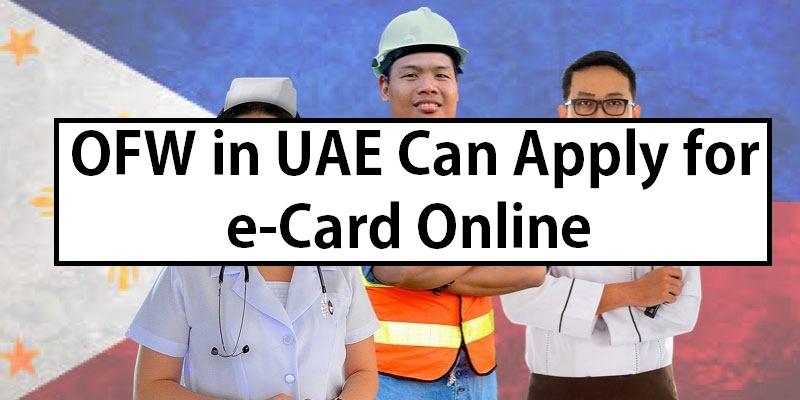 UAE OFW e-Card