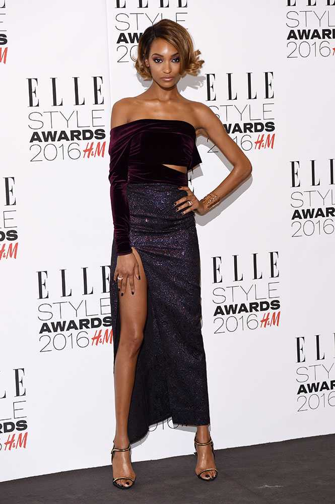 elle style awards 2016 jourdan dunn