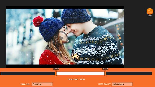برنامج Video Trimmer & Video Cutter , Video Editor قص وتقطيع الفيديو لويندوز 10