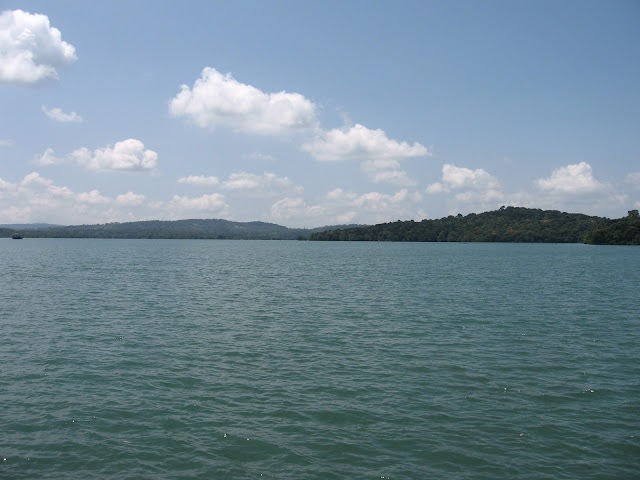 View of Sharavati River from Ferry