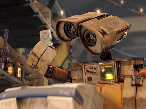 Foto dan Video Animasi Wall E