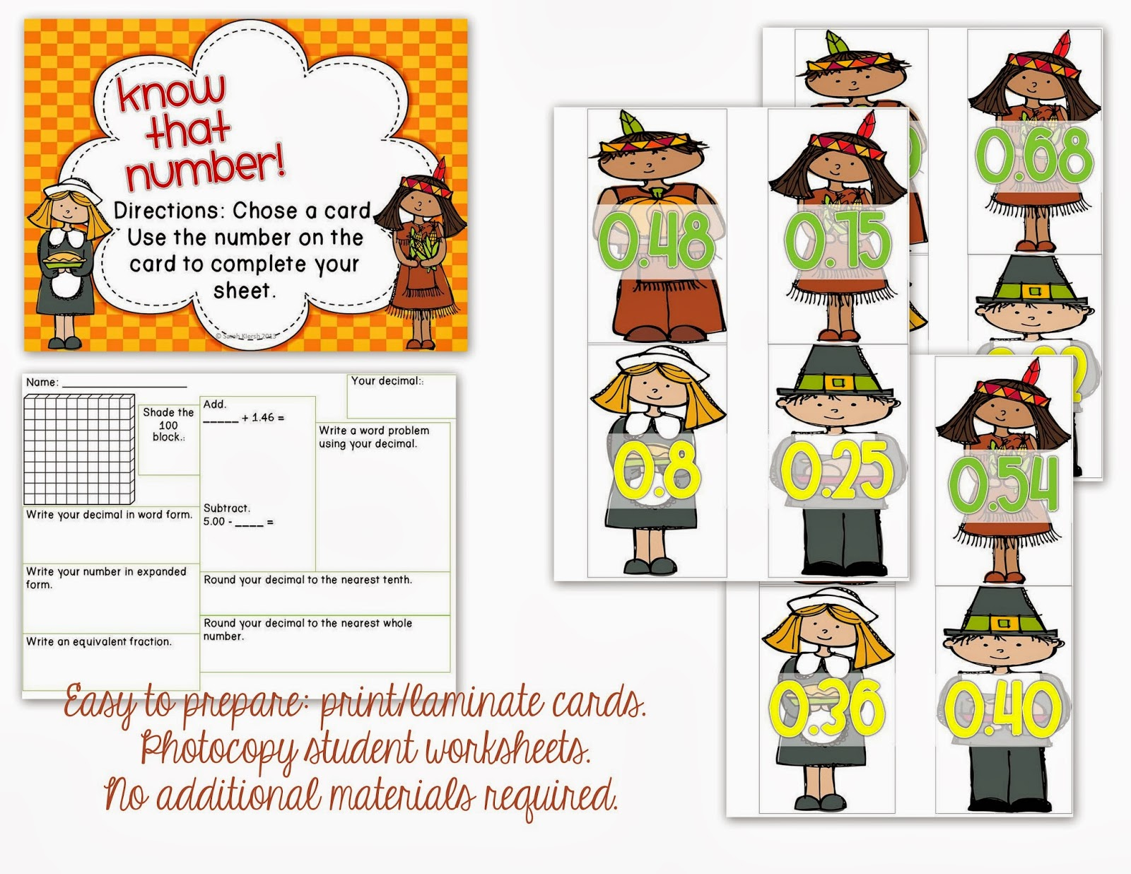 Misskinbk A Fifth Grade Blog Fall Math Centers Freebie