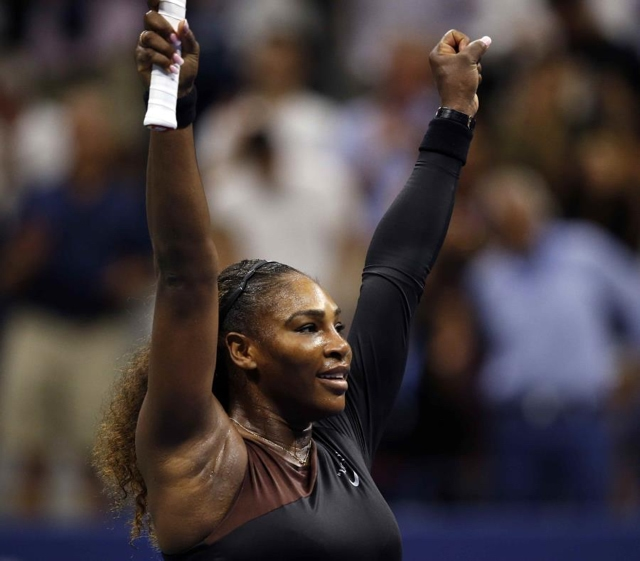 Serena Williams pasa a la semifinal del US Open