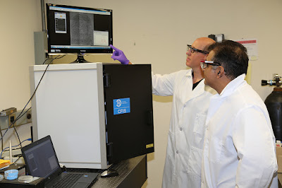 Photo of a new fingerprint and chemical forensic analysis system