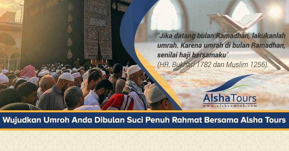 Paket Umroh Ramadhan 2019 Alsha Tour