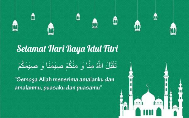 Kata Kata Ucapan Selamat Lebaran Hari Raya Idul Fitri 1441 H