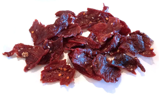 spicy laotian dried beef