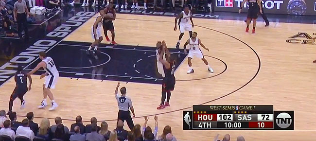 HIGHLIGHTS: Houston Rockets vs. San Antonio Spurs (VIDEO) Game 1 / West Semis