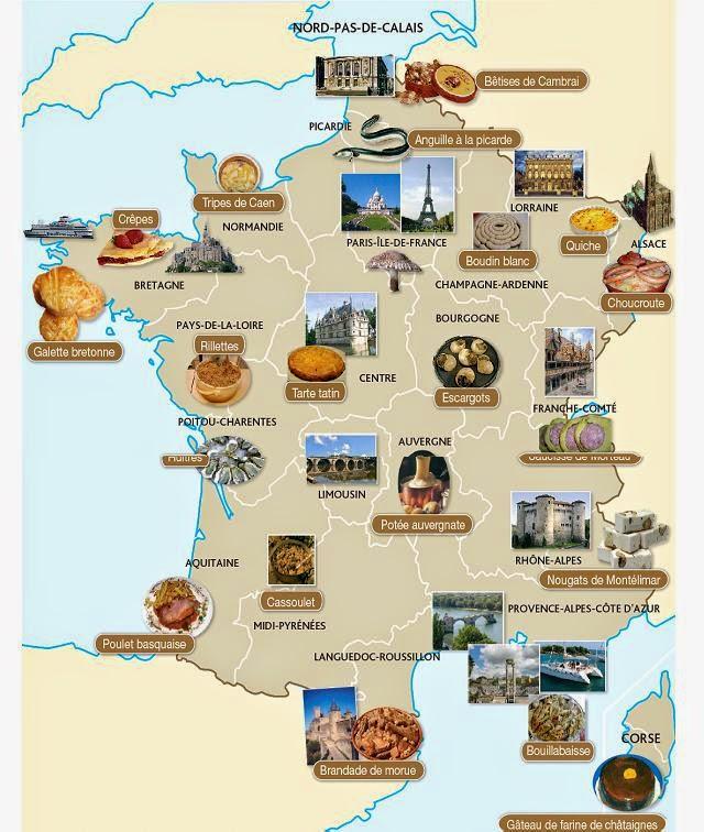 Kuchnia francuska - słownictwo 4 - Francuski przy kawie