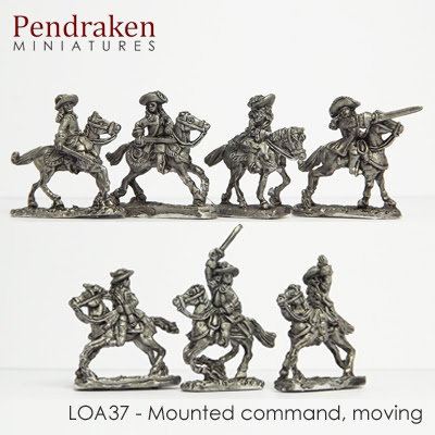 LOA37 - Mounted Command, moving