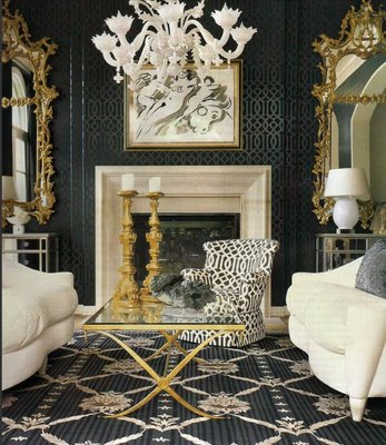 Le Style Journal Get The Look Hollywood Regency