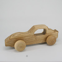 LFC29, Secret Agent Car, Lotes Toys Wooden Car