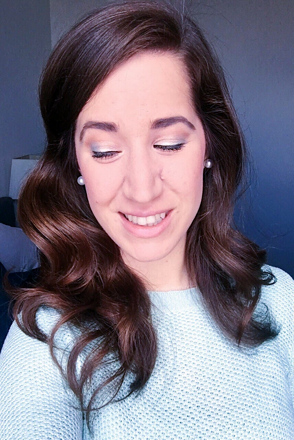Mint and Gold subtle eye look, Spring 2017 makeup look - Tori's Pretty Things Blog