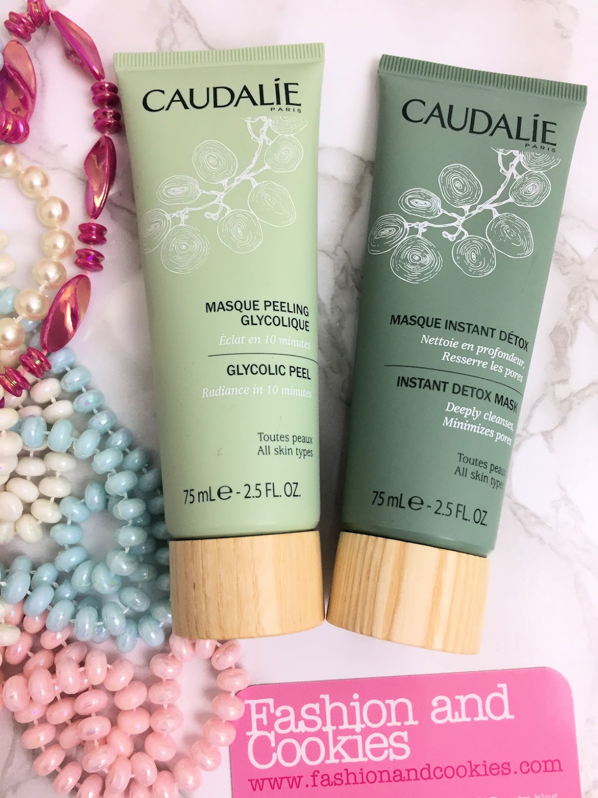 Caudalie skincare masks review on Fashion and Cookies beauty blog, beauty blogger