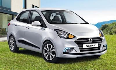 New 2017 Hyundai Xcent sedan hd image