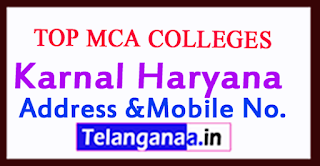 Top MCA Colleges in Karnal Haryana