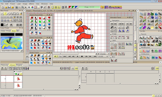 TVPaint Animation 10 Pro Latest Version Free Download