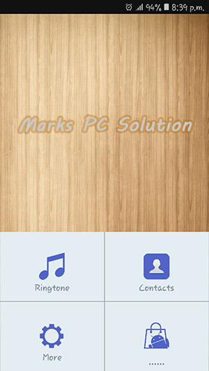 Ringtone Maker Welcome Screen