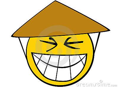 Asian Smiley Face Emoticon